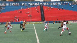 são paulo crystal derrota 300x171 - São Paulo Crystal joga melhor, mas perde e está fora da Copa São Paulo
