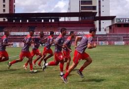 Campinense faz jogo treino contra equipe Sub-20