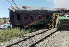 Acidente de trem mata 12 e fere 260 pessoas na África do Sul