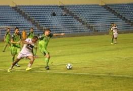 Treze define hoje contra o Cordino quem fica com a última vaga na Copa do Nordeste