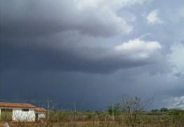 Sertão da Paraíba registra 175 mm de chuvas em seis cidades nesta quarta-feira