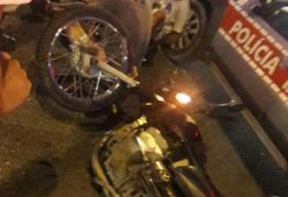 VEJA VÍDEO: Após perseguição policial, bandidos batem em veículo e um fica ferido em JP