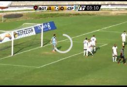 Revolta nas arquibancadas e nos gramados marca empate entre Botafogo-PB e CSP