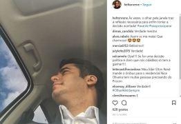Auxiliar de Cartaxo faz postagem enigmática nas redes sociais sobre 'enfim tomar a decisão acertada'