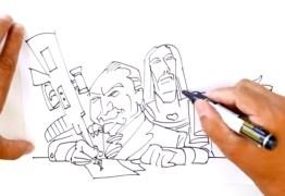 VEJA VÍDEO: Não entendeu a intervenção federal no Rio? veja em forma de desenho