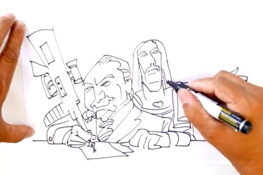 Intervenção imagem - VEJA VÍDEO: Não entendeu a intervenção federal no Rio? veja em forma de desenho