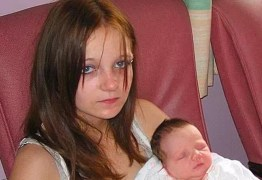 Jovem que engravidou aos 11 anos comove com relato emocionante