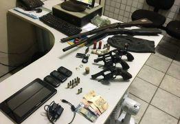 Bandidos são presos após fazer família refém dentro de sítio no interior da PB