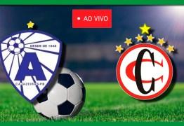 AO VIVO: Atlético e Campinense direto do estádio Perpetão em Cajazeiras