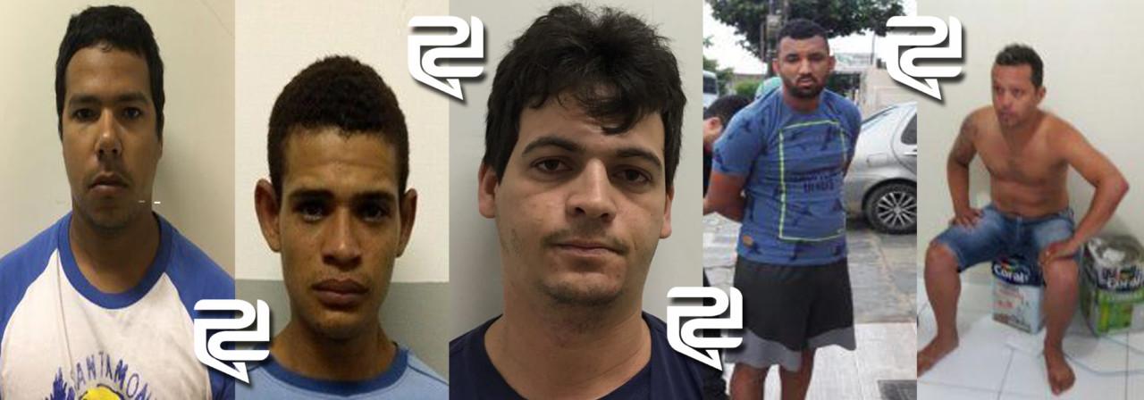 bandidos - Policia revela identidade dos integrantes da gangue que explodiu banco em shopping, entre eles o funcionário da PMCG