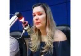"""VÍDEO – """"Ninguém vai passar a perna em ninguém"""" diz Camila Toscano sobre pretensões de Luciano Cartaxo"""