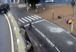 VEJA VÍDEO: Carro despenca de viaduto no Centro de Campinas