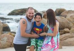 Fotógrafo faz relato emocionante sobre se tornar pai adotivo