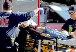 Era só sangue e corpo no corredor, diz brasileira após ataque