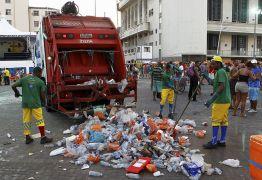 Mais de 700 toneladas de lixo são recolhidos durante o Carnaval de Salvador