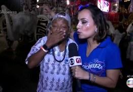 Repórter da Globo comete gafe com filha de Martinho da Vila