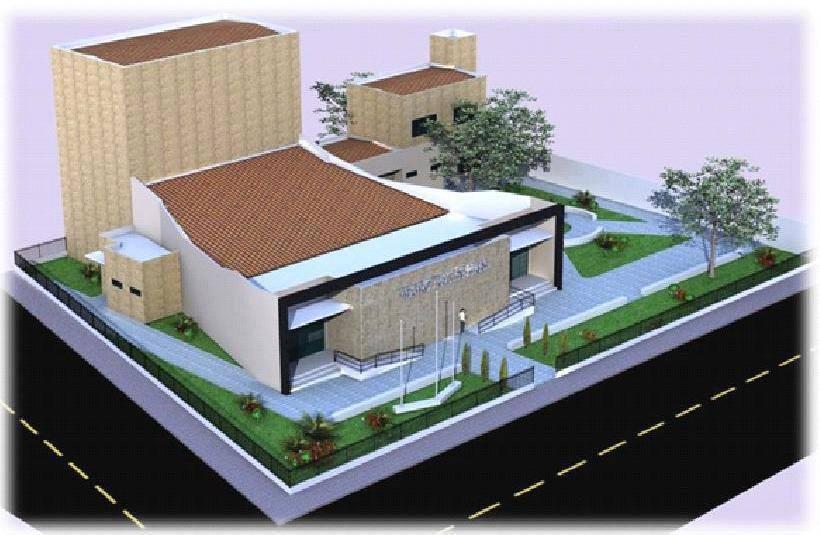 planta projeto teatro iracles pires - Teatro Íracles Pires, em Cajazeiras, será inaugurado dia 2 de março