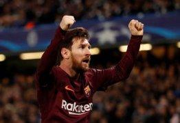Messi quebra o tabu e marca contra o Chelsea