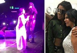 VEJA VÍDEO: Gretchen se apresenta com Ludimilla em show e leva plateia ao delírio