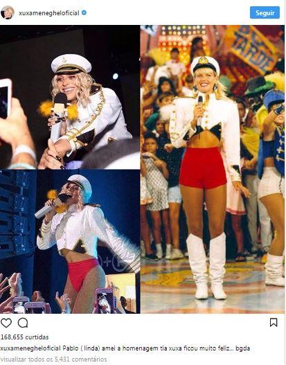 xuxa - Pabllo Vittar já é a rainha das fantasias do Carnaval 2018