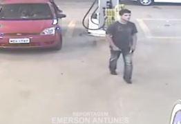 VEJA VÍDEO: Briga em posto de combustíveis acaba com atropelamento