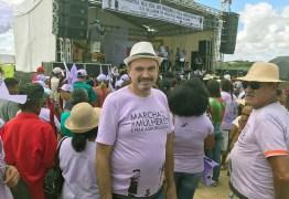 Deputado Jeová Campos participa de Marcha das Mulheres em Lagoa de Roça e elogia movimento