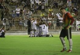 Botafogo-PB vence o Sousa e vai às semifinais do Campeonato Paraibano