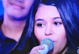 CLASSIFICADA PARA A SEMIFINAL: Eduarda Brasil é a mais votada pela internet e segue na disputa do The Voice Kids – VEJA VÍDEO
