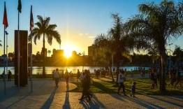 Parque da Lagoa tem Grupo Arretado