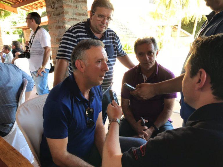 aga4 768x576 - Aguinaldo Ribeiro e Galego Souza são recepcionados por lideranças políticas em São Bento e Catolé do Rocha; VEJA FOTOS