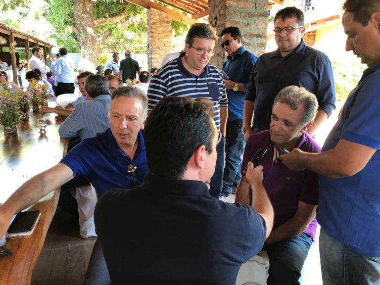 aga5 768x576 - Aguinaldo Ribeiro e Galego Souza são recepcionados por lideranças políticas em São Bento e Catolé do Rocha; VEJA FOTOS