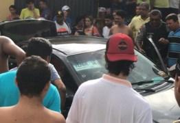 Motorista de alternativo e mais três passageiros são baleados em Santa Rita