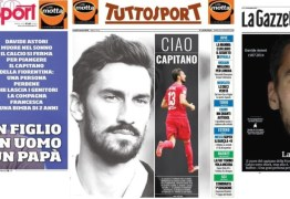 Luto por Astori: italianos lamentam a morte, e goleiro se revolta na França
