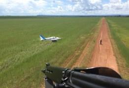 FAB apreende avião com meia tonelada de cocaína
