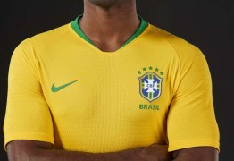CBF divulga nova camisa da seleção brasileira para Copa do Mundo