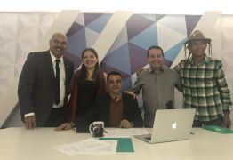 VEJA VÍDEO: Gutemberg Cardoso entrevista representantes da primeira chapa proporcional formada na PB para 2018