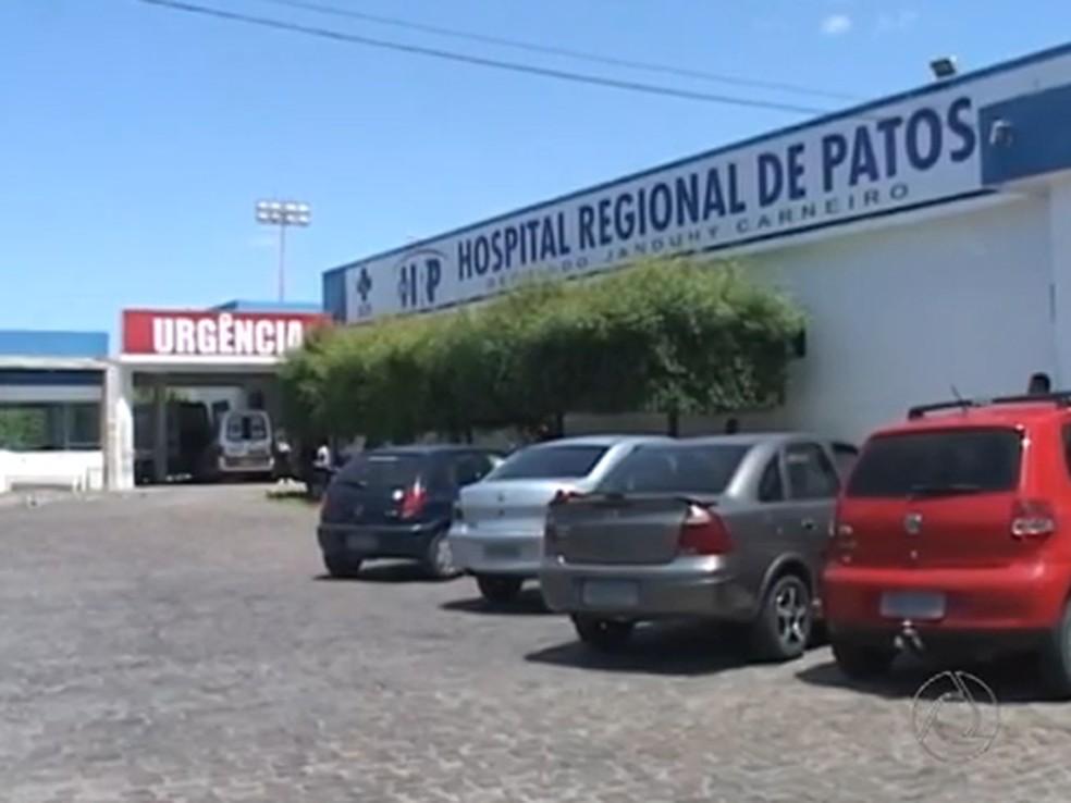 hospital regional de patos - Hospital Regional de Patos tem novo edital para contrato emergencial de gestão