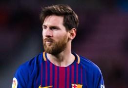 Messi acha que Copa 2018 é a última chance de sua geração