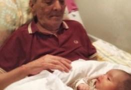 Lúcio Mauro Filho mostra encontro de seu pai, Lúcio Mauro, com a neta