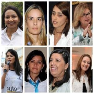 mulheres pb 300x300 - ELEIÇÕES 2018: Na Paraíba todos os vices poderão ser mulheres! - Por Rui Galdino