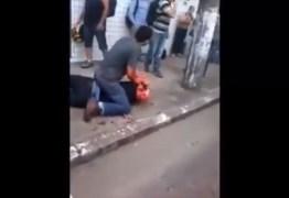 VEJA VÍDEO: Pai agride homem que tentou atacar filha quando voltava da escola