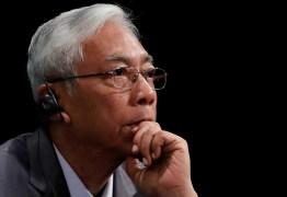 Htin Kyaw renuncia à presidência de Mianmar