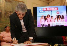Ricardo cria delegacia especializada e lança campanha para homenagear o Mês das Mulheres