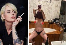Fernanda Young publica foto polêmica exibindo os seios e tem post censurado