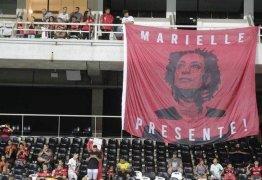 Marielle Franco é homenageada em jogo do Flamengo