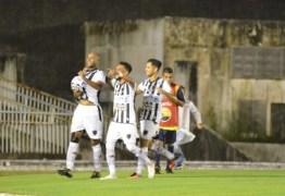 É LÍDER! Em casa, Botafogo-PB vence o Confiança-SE em jogo do Grupo A