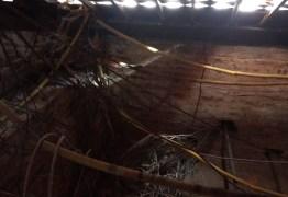Prédio do TJPB corre risco de cair e MPT não descarta interdição: 'situação de extrema gravidade'