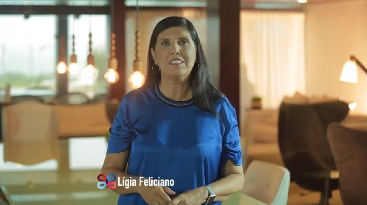 """Lígia Feliciano na TV2 - EM CLIMA DE CAMPANHA, LÍGIA MANDA RECADO PARA RICARDO NA TV: """"Alguém leal assim todo mundo quer"""""""