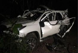 Carro suspeito de participar de ataque a carro forte na PB é encontrado totalmente destruído