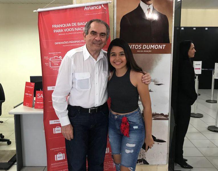 WhatsApp Image 2018 04 09 at 16.33.36 e1523303818657 - Senador Raimundo Lira recebe Eduarda Brasil em Juazeiro do Norte e segue em carreata para São José de Piranhas